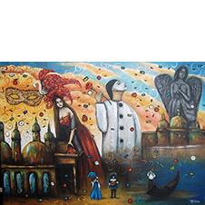 Włoska fantazja, Beata Puskarczyk, 50×70 cm, 17-20-12-2018