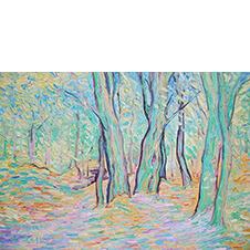 Jesienny las, Błażej Nowicki, 50×70 cm, 7-5-12-2018-poz.1