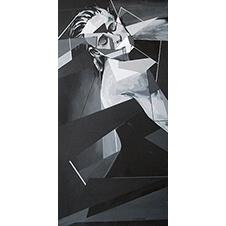 Taniec, Elżbieta Golimowska, 100×50 cm, nr kat. 4-3-12-2018-poz.2