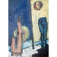 Abstrakcje. Manekiny, Katarzyna Kisielewska, 70×50 cm, nr kat. 15-18-12-2018