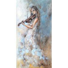 Melodyjka, Michalina Derlicka, 40 x 20 cm, nr kat. 28-24-1-2019