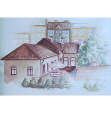 Miasto, Karolina Luszowiecka, 17,5 x 25 cm, nr kat. 64-24-6-2019-poz.2