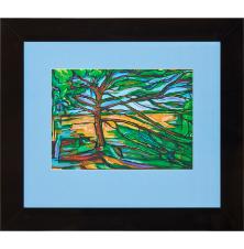 Drzewo, Urszula Szulborska, 30 x 42 cm, nr kat. 80/4/12/2019 poz. 4