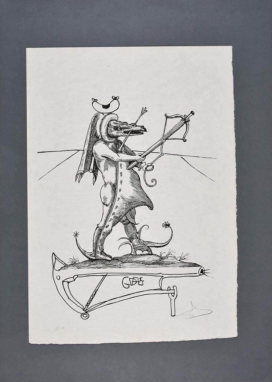 420Dali Salvador Les songes drolatiques de Pantagruel, 1973