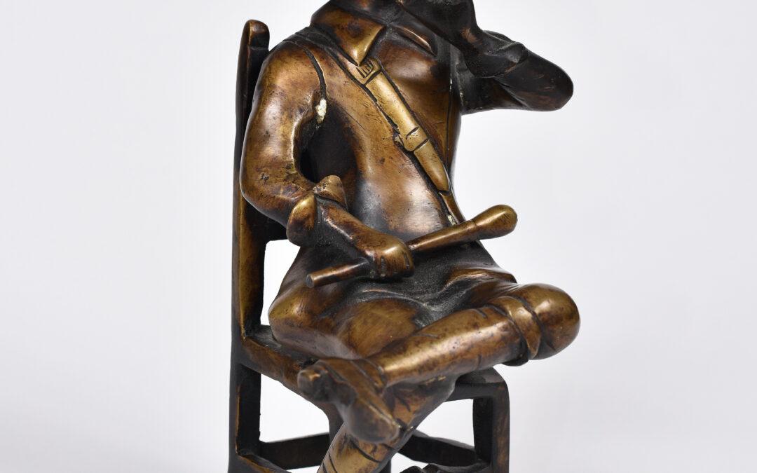 Autor nieokreślony Palący cygaro, 1920. XX w.