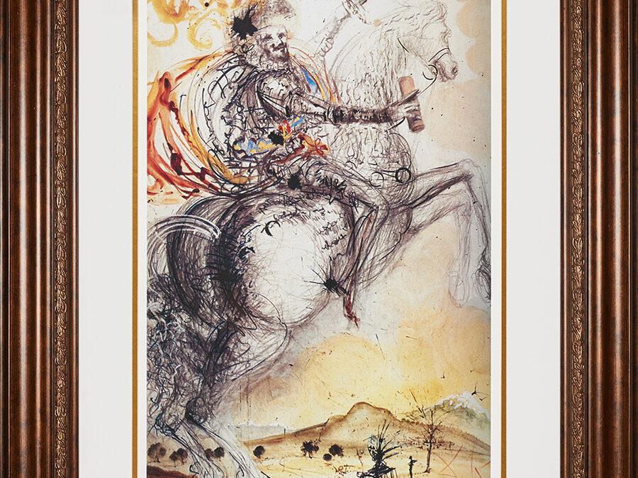 Dali Salvador Don Quixote El Cid
