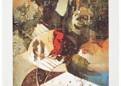 Delekta Eugeniusz Z cyklu: Przestrzenie dźwięków I, 2005