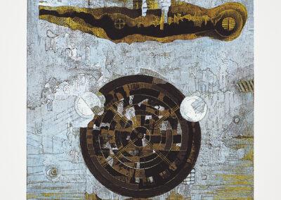 Delekta Eugeniusz Z cyklu: Znaki i symbole VI, 2015