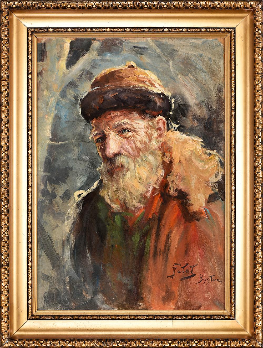 Fałat Julian Portret chłopa