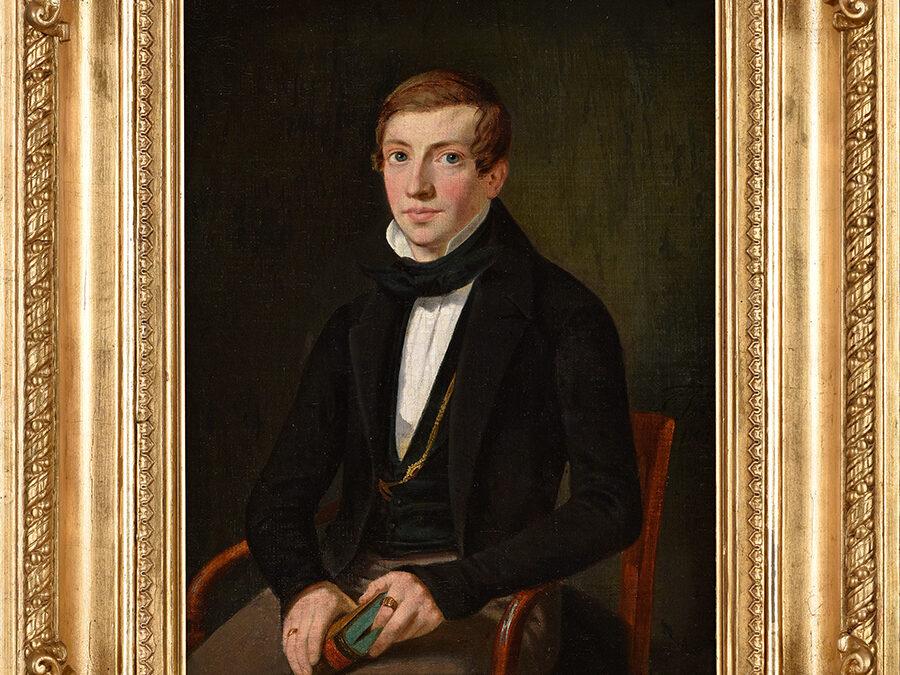 Fischer Carl Portret, 1849