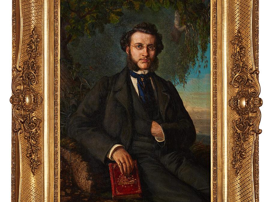 Friedrich H. Mason, 1860