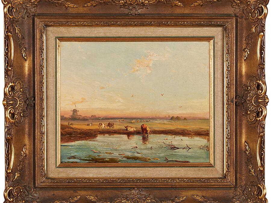 Hilgers Carl Rozlewiska koło Roterdamu, 1881