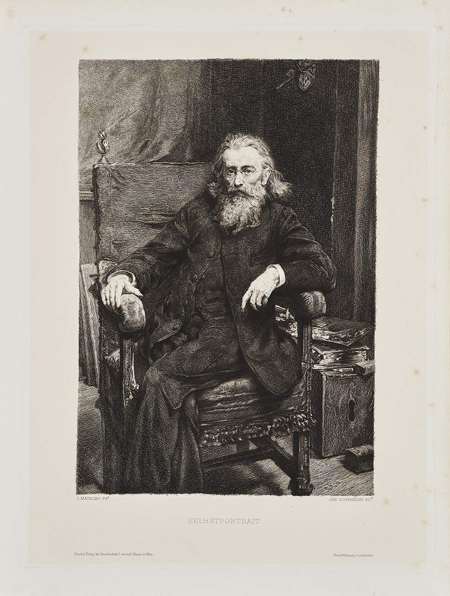 Łopieński Ignacy Portret Jana Matejki, 1893