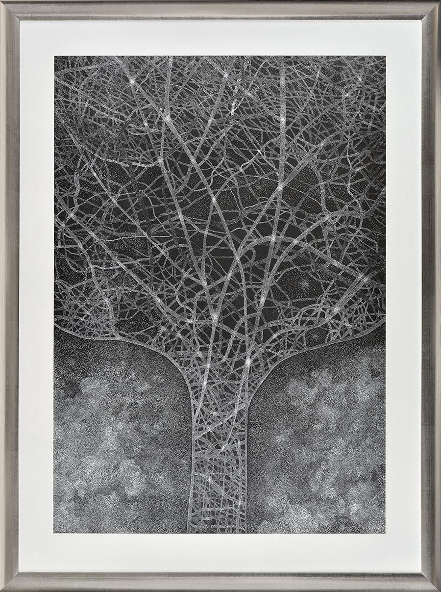 Maj Elżbieta Abstrakcyjne drzewo, 2018
