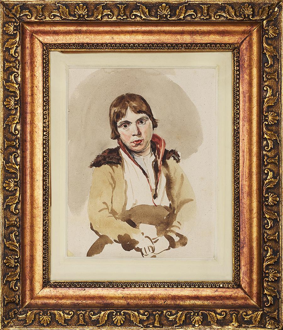 Michałowski Piotr Portret chłopca