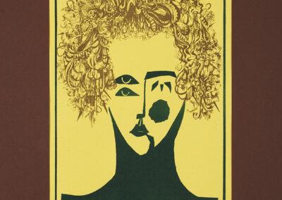 Molik-Niżnik Irena Twarz kobiety – żółta, 1976