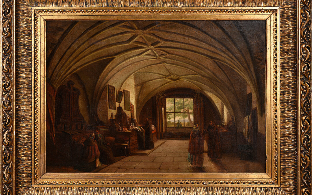 Zaleski Marcin Zakrystia w Kościele św. Anny w Warszawie, 1840./1850.