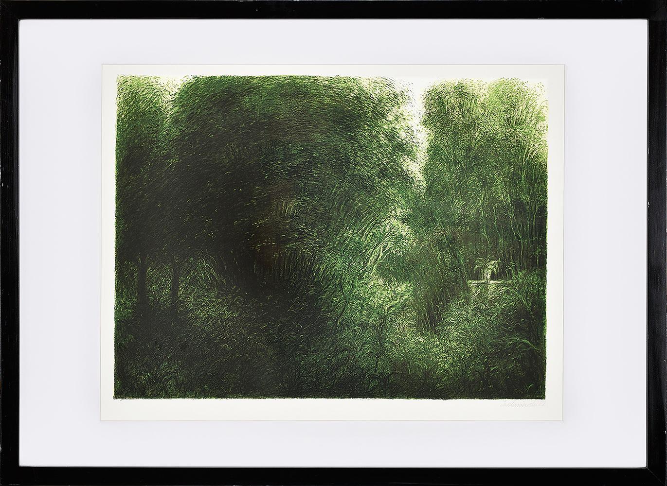 Zaniewski Iwo, Wnętrze lasu, 1982