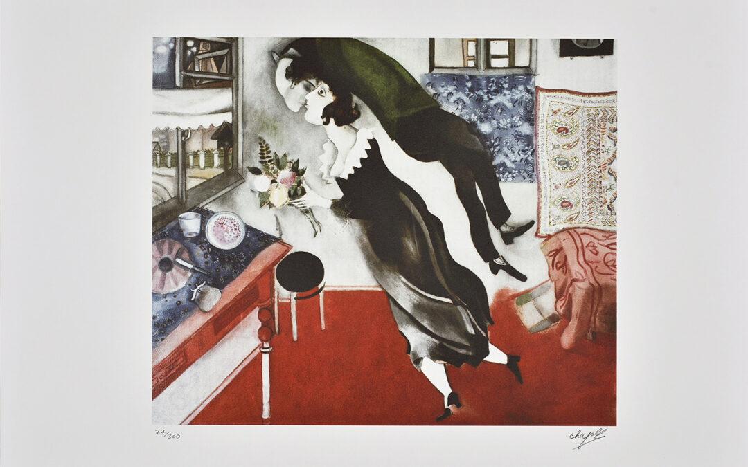 Chagall Marc, Couple d'amourex