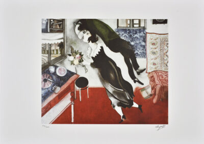 Chagall Marc, Couple d'amourex