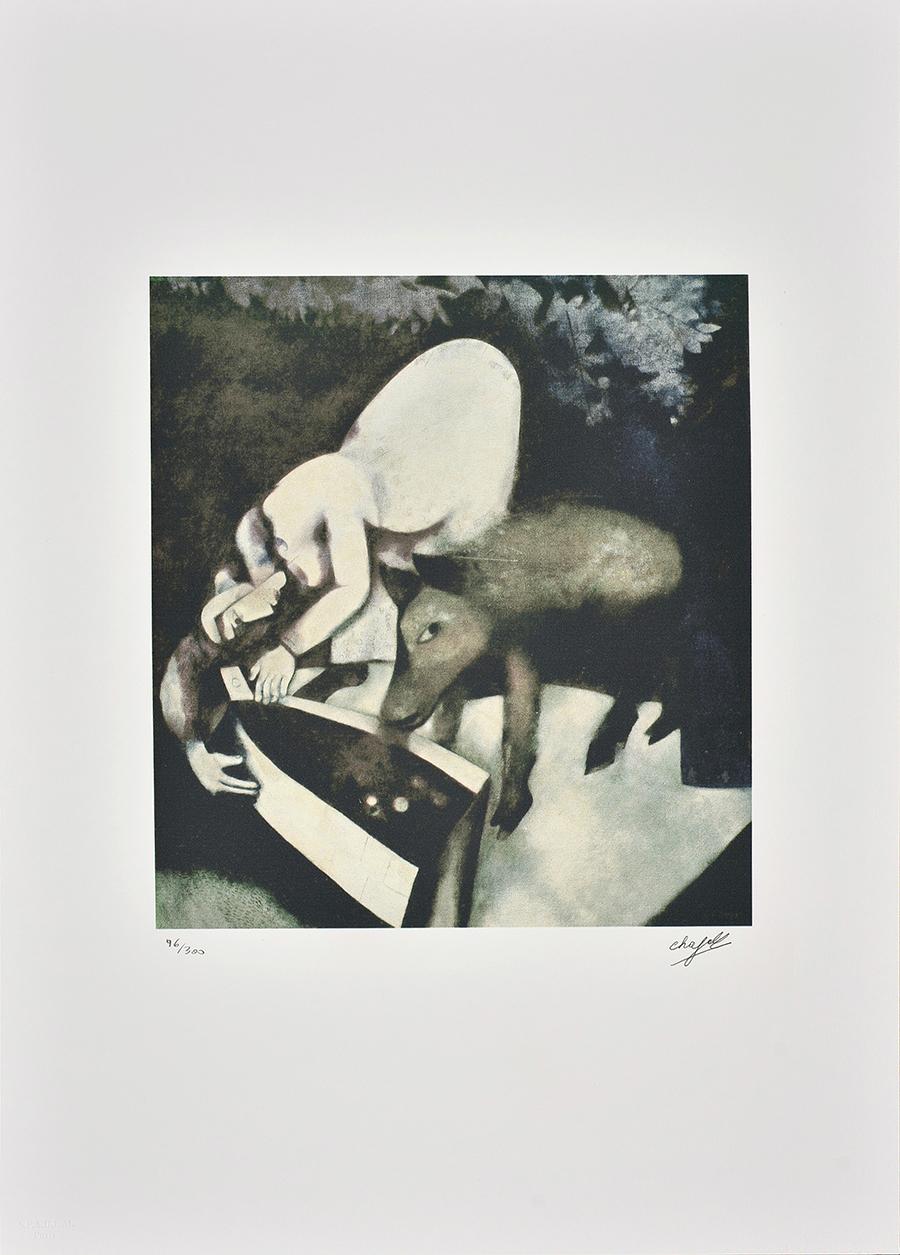 Chagall Marc, An Revoir la Nuit