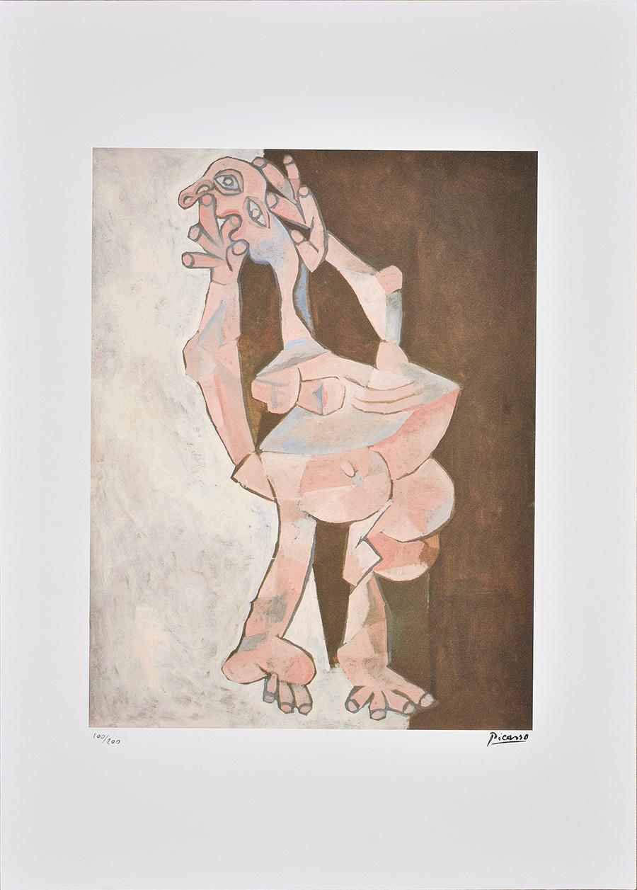 Picasso Pablo, FigureCubiste Debout