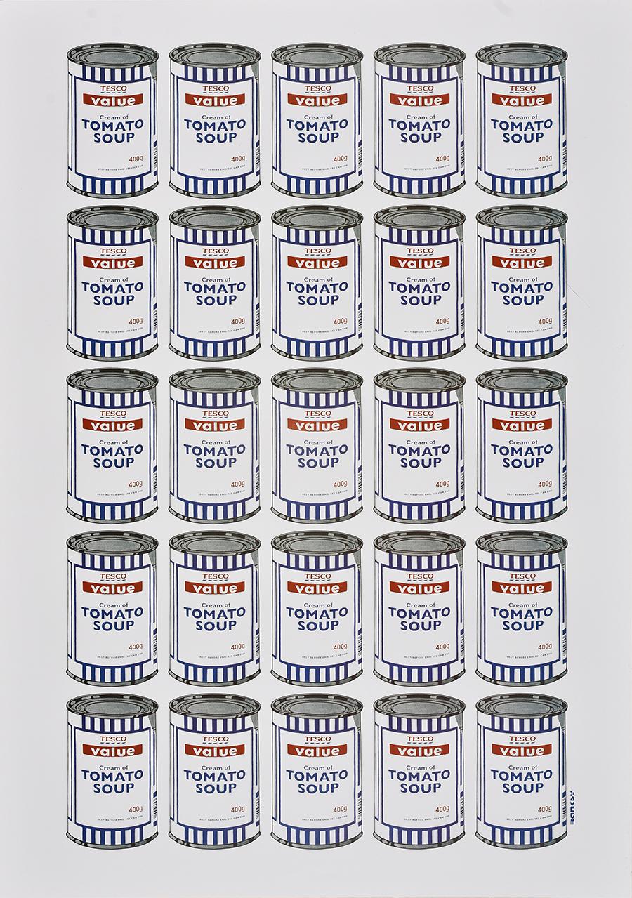 Banksy, Tesco tomato soup, 2006