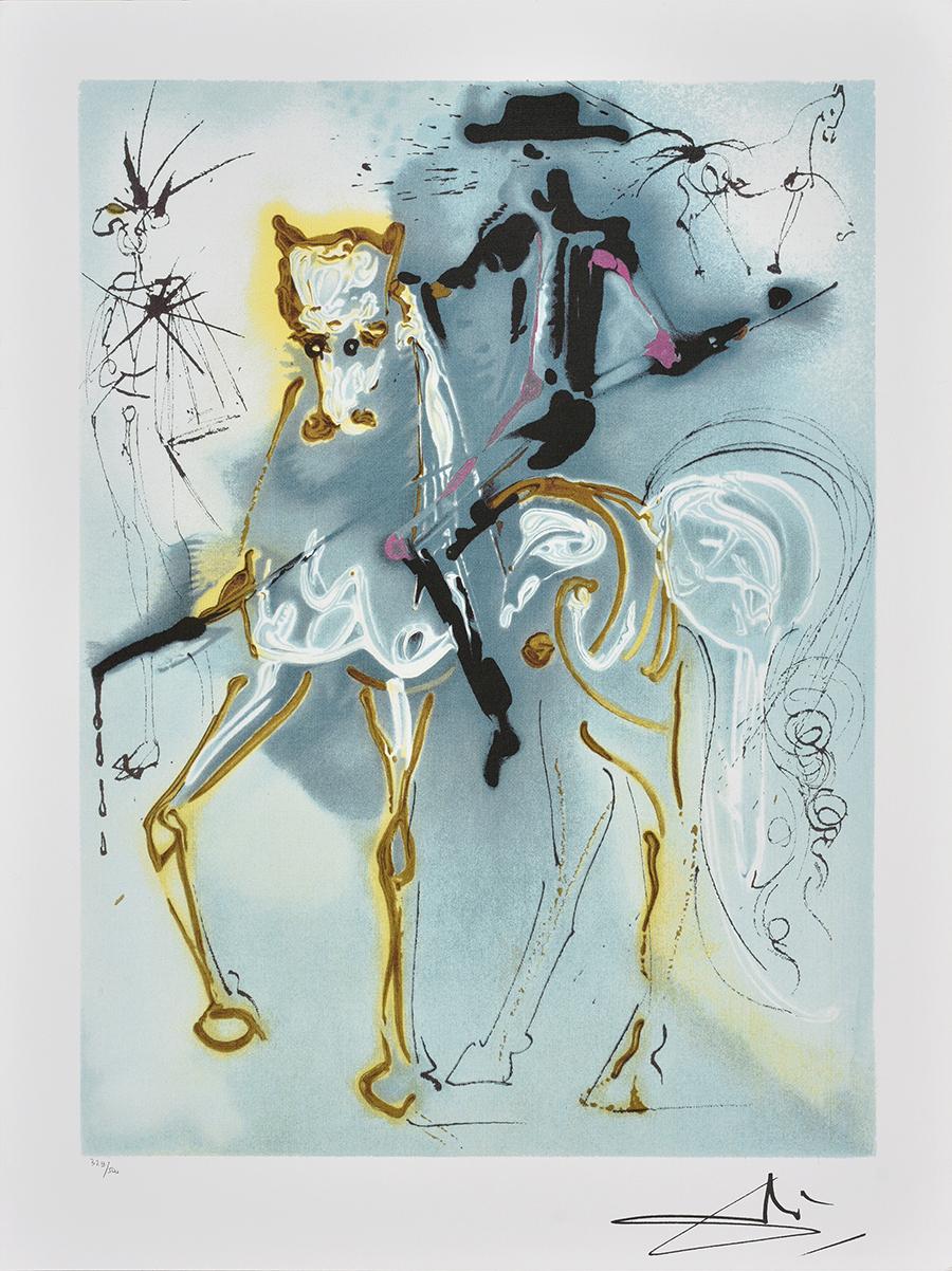 Dali Salvador, Z cyklu Dalinean Horses: Le picador