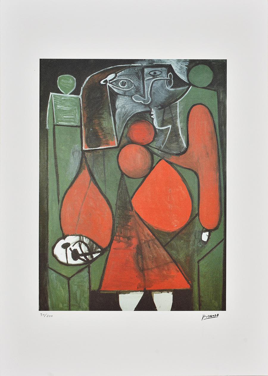 Picasso Pablo, Acte cubiste 1986