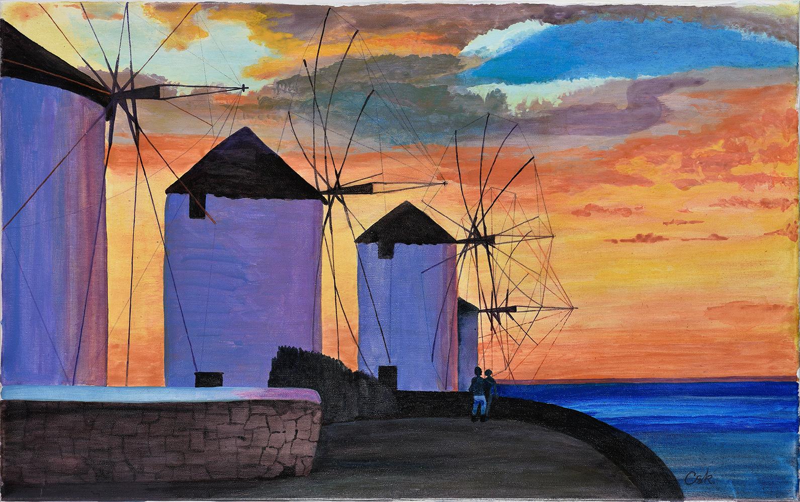 Ciosek Bogumiła, Wiatraki, 2000