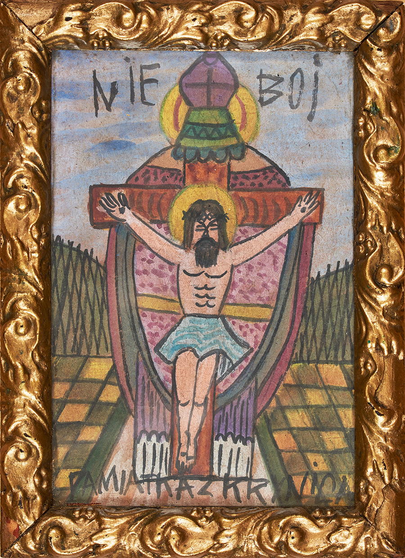 Krynicki Nikifor, Chrystus ukrzyżowany