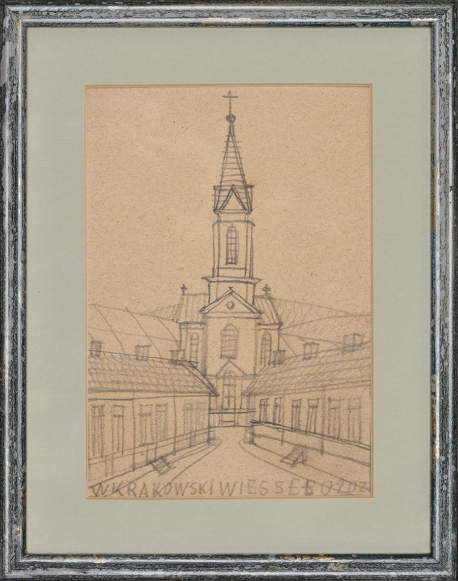 Krynicki Nikifor, Krakowski kościół
