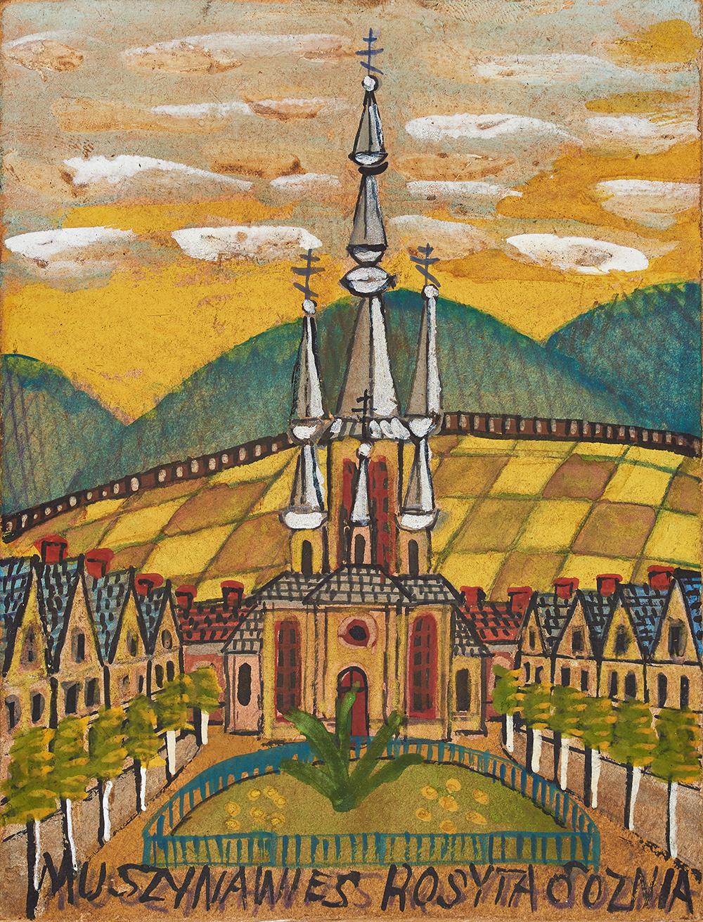Kościół w Muszynie
