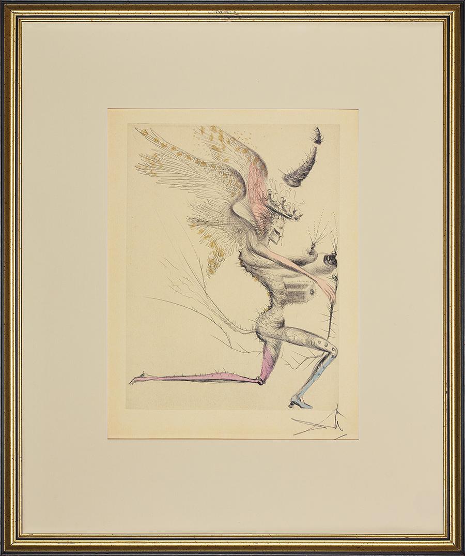 Dali Salvador, Le demon aile, wydanie 1967