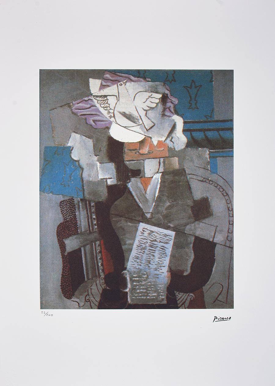 Picasso Pablo, Personages cubistes