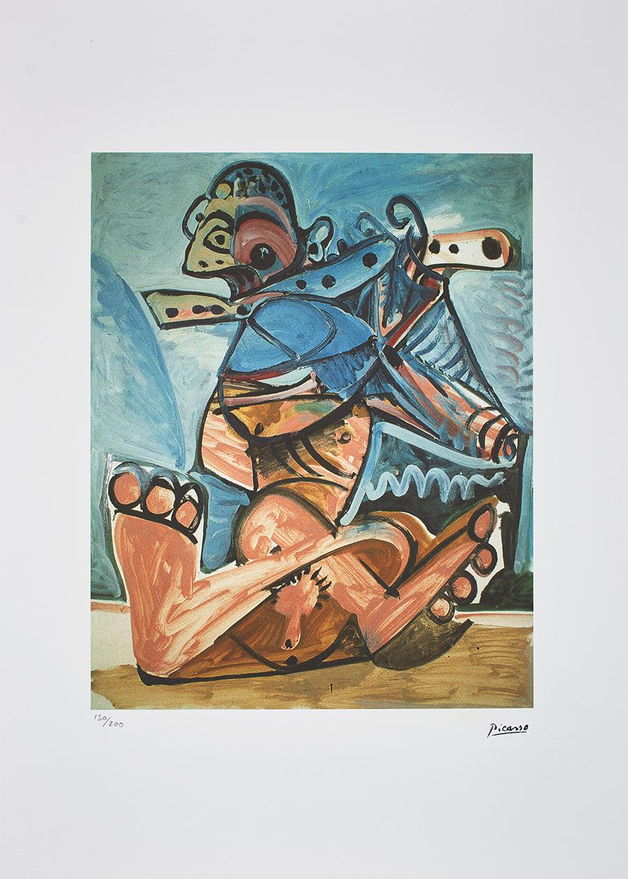 Picasso Pablo, Acte cubiste