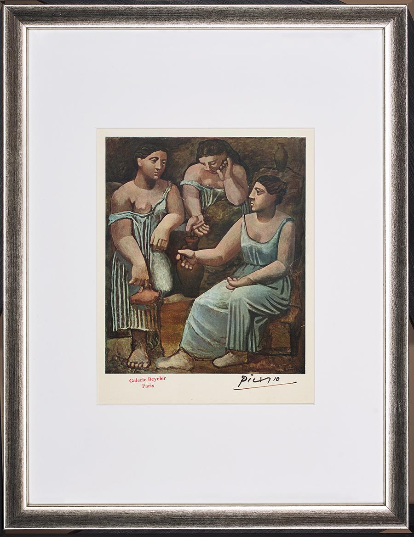 Picasso Pablo, Trzy gracje przy studni, 1946