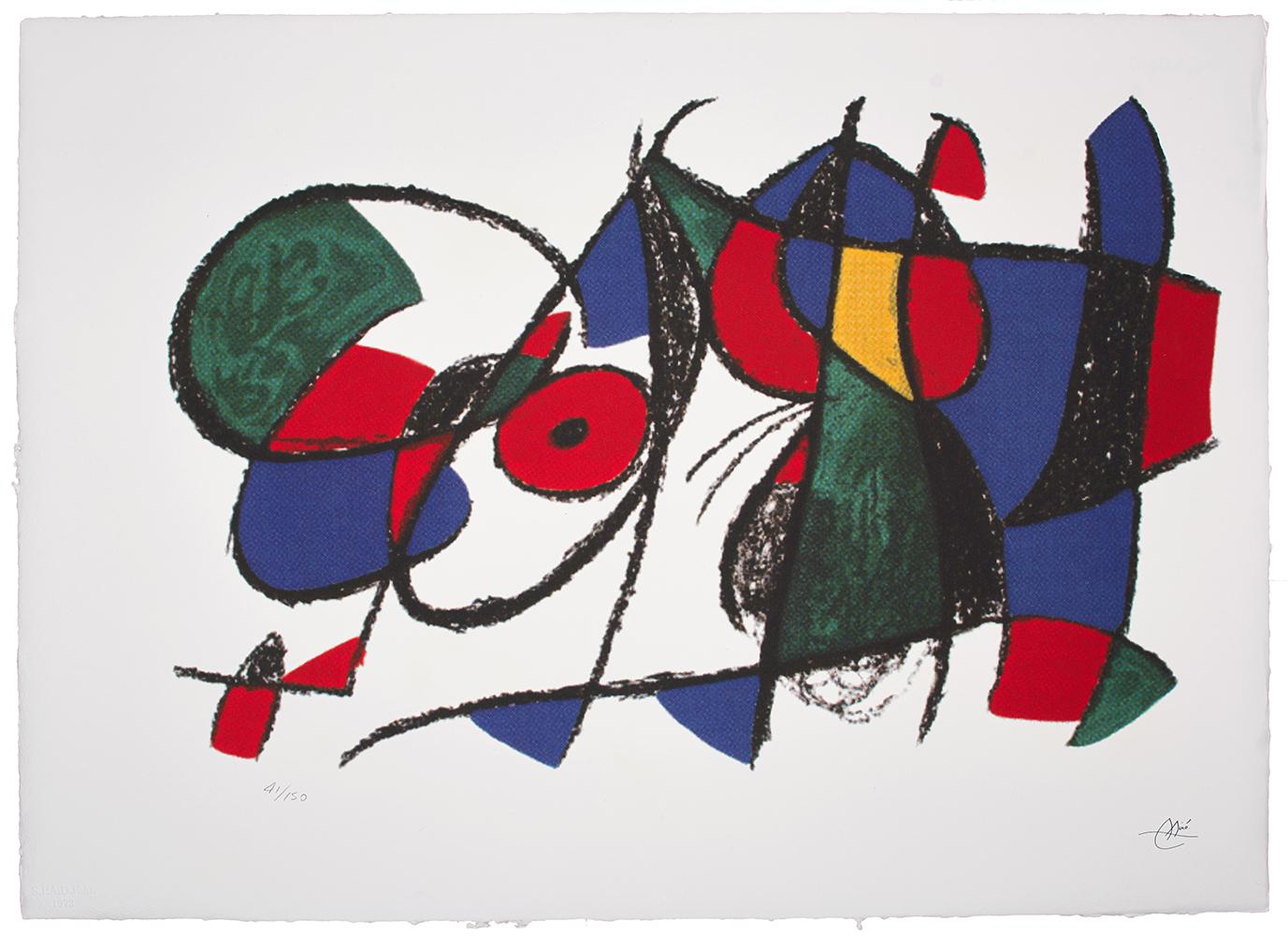 Miro Joan, Kompozycja...