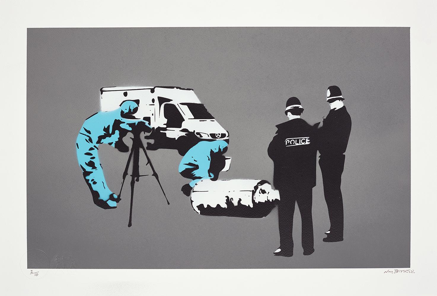 Banksy, Forensics, 2019