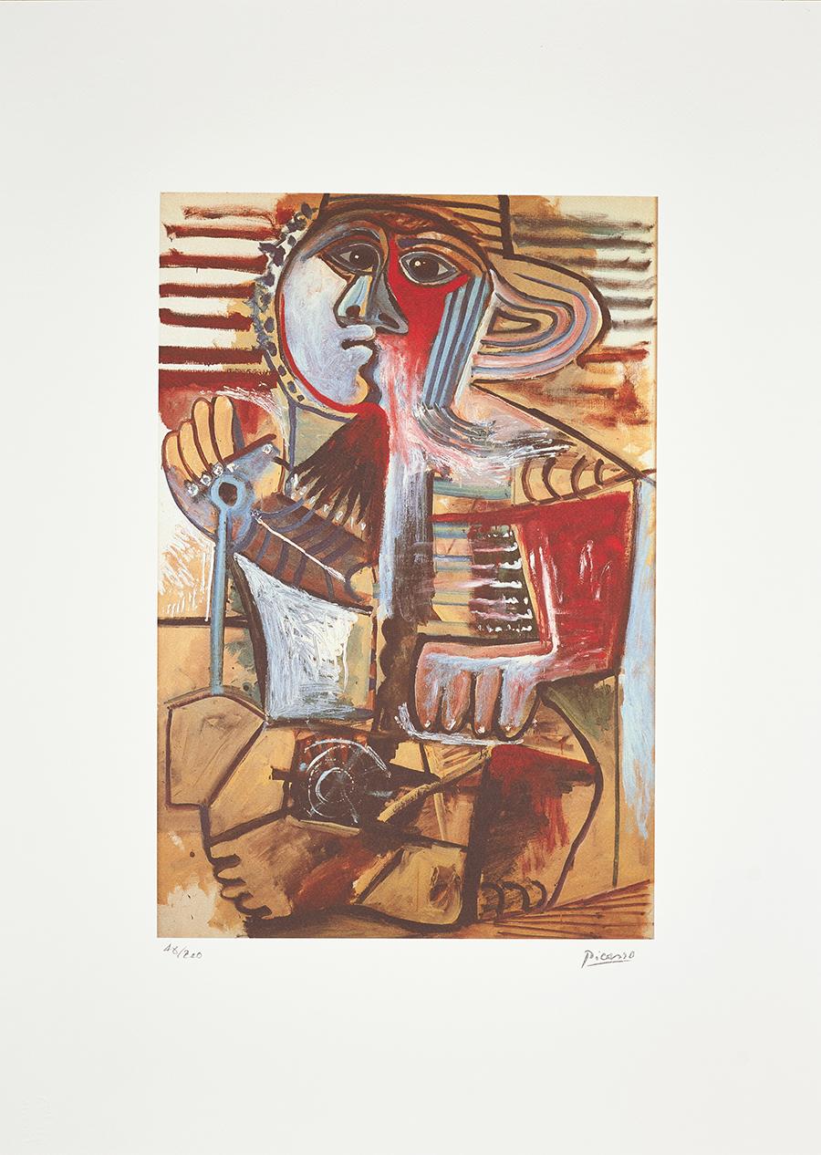 Picasso Pablo, Figure Cubiste