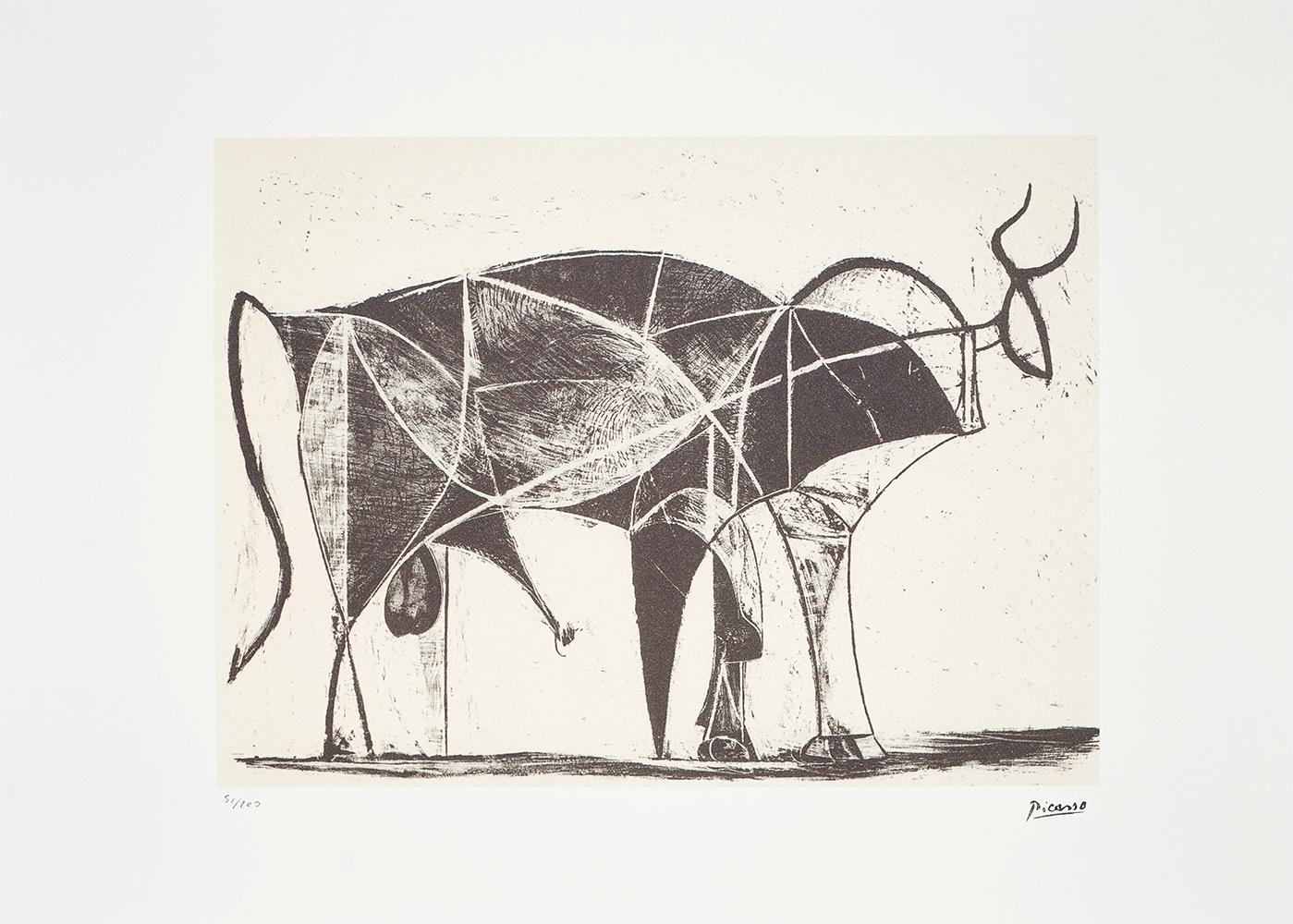Picasso Pablo, Bull