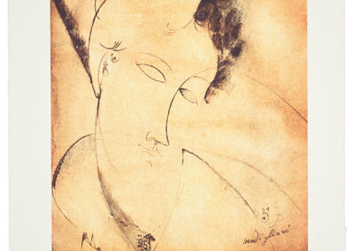 Modigliani Amedeo, Geisha