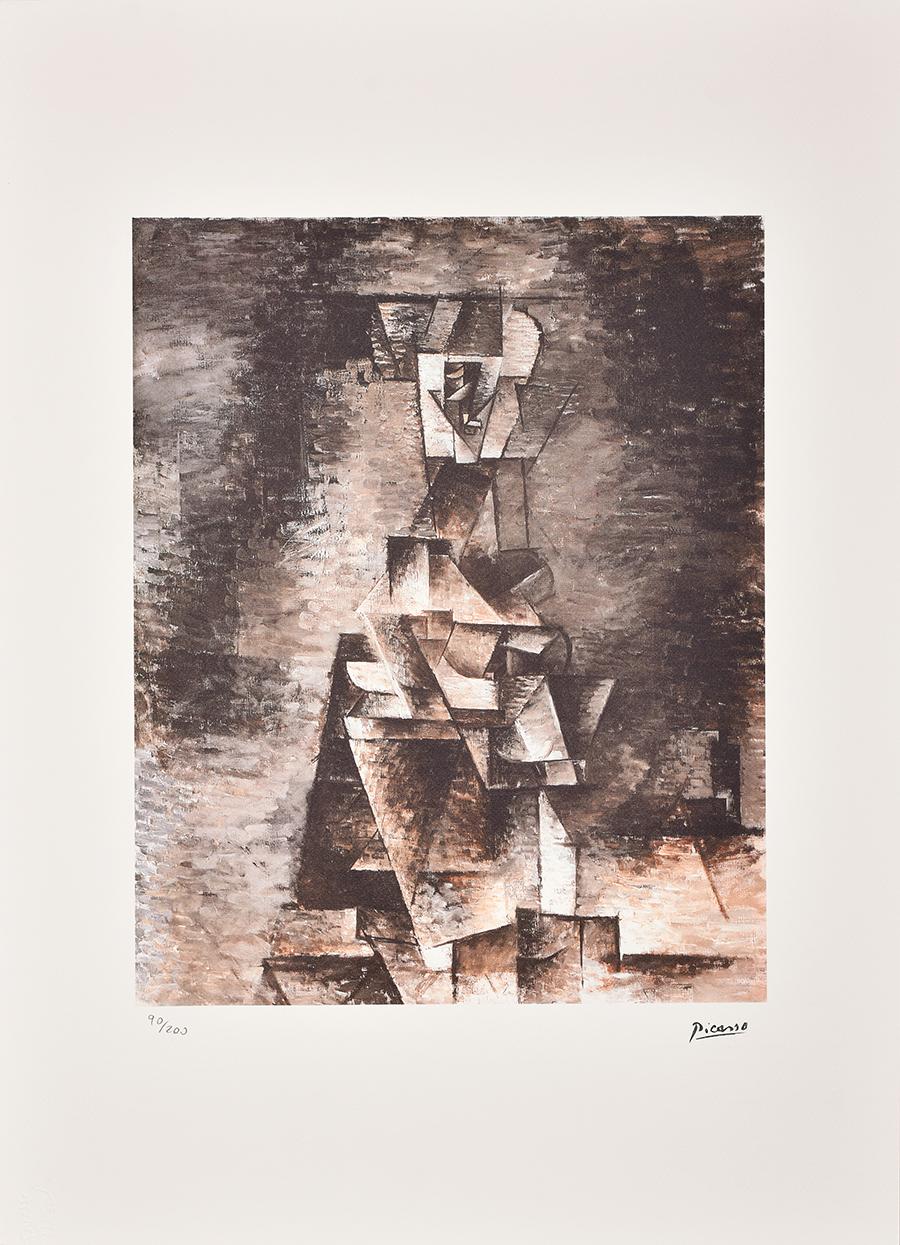 Picasso Pablo, Kompozycja kubistyczna