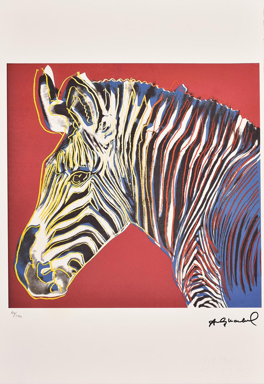 Warhol Andy, Zebra