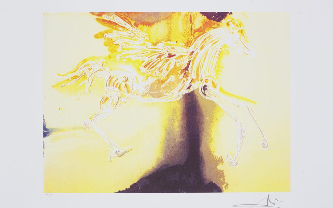 Dali Salvador, Pegasus, z cyklu Dalinean Horses