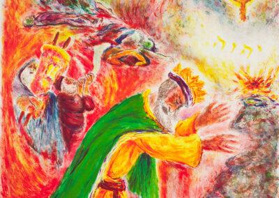 Moskowitz Ira, The burning bush, z cyklu: The Song of Songs