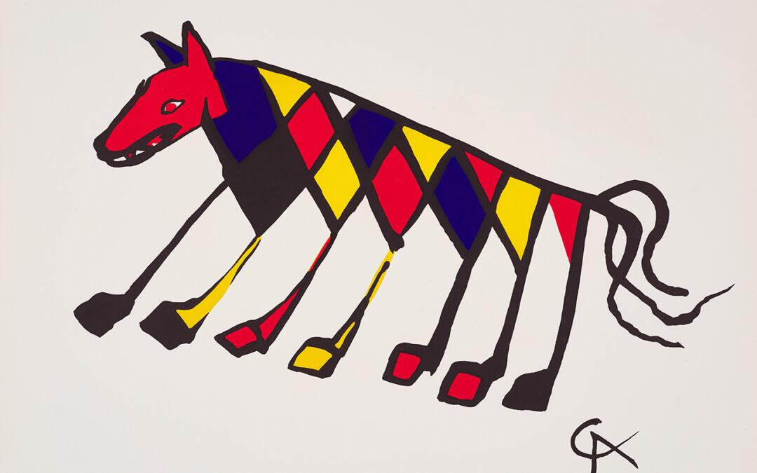 Calder Alexander, Beastie, z cyklu: Braniff Airlines Flying Colors, 1974