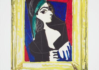 Picasso Pablo, Portrait de Jacqueline, 1980