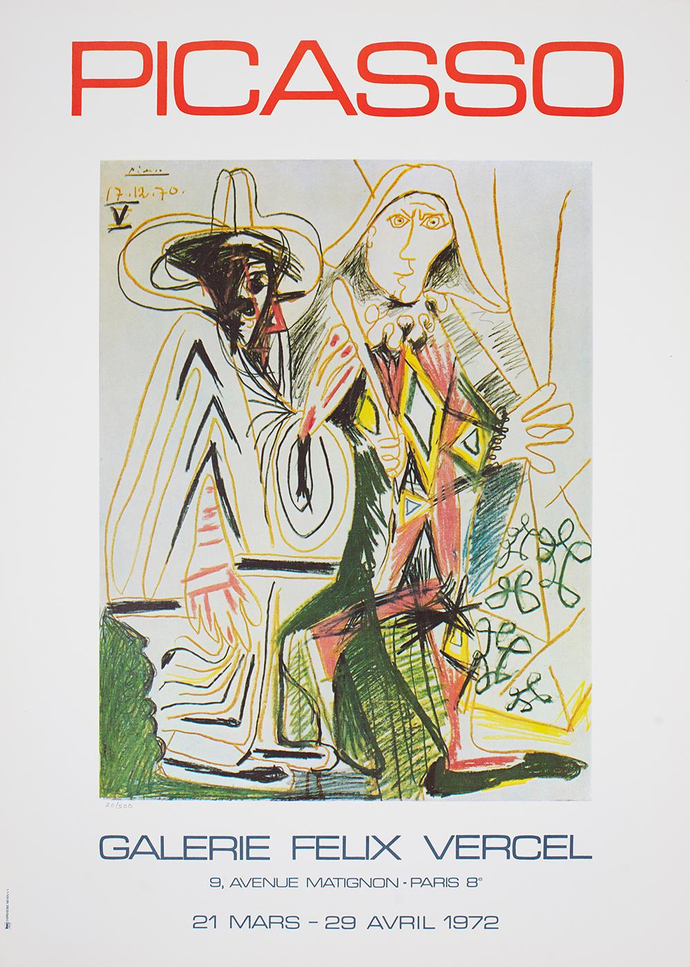 Picasso Pablo, Galerie Felix Vercel, 1972