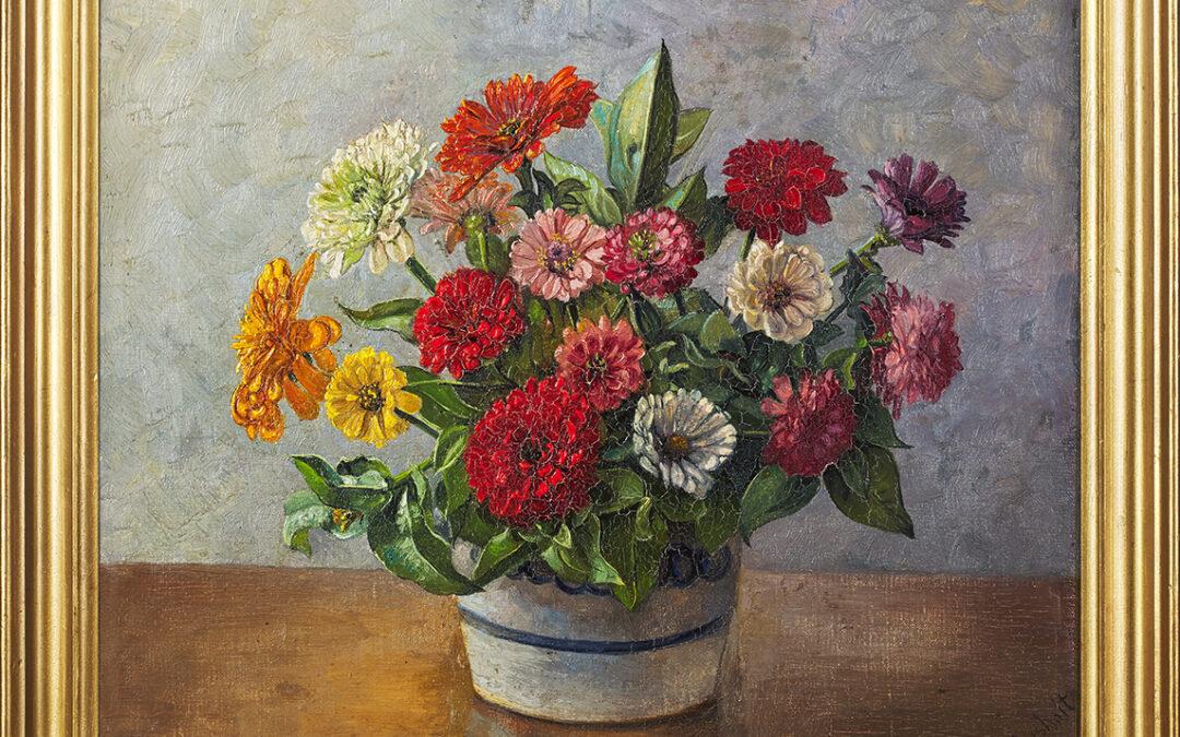 Lysholt P., Kwiaty 1936